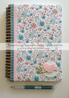 Twitterpated journal w/Bird Builder punch out