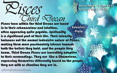 Pisces - Third decan (March 12 - March 20)