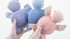 DIY free crochet pattern by S strene Grene # Doll Amigurumi Free Pattern, Amigurumi Doll, Knit Headband Pattern, Knitted Headband, Newborn Toys, Baby Toys, Free Crochet, Easy Crochet, Crochet Mushroom