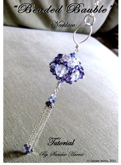 Beaded Bauble Necklace Tutorial