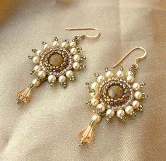 Elizabethan Splendour earrings by Cielo Design, via Flickr