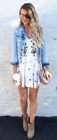 Outfit ideas in order to be fashionable in April 2017! Do not miss it!