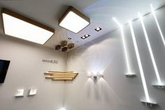 Scandinavian style wooden lamps from Trilum lighting brand.