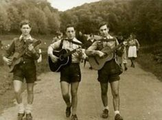 The Edelweiss Pirates was an association of a number of youth movements who opposed Nazi rule. Primarily opposed to the Hitler Youth Movement. The Edelweiss Pirates went on hiking and camping trips defying restrictions on movement and sung banned blues or Jazz songs. During WW2 they collected and distributed British anti-Nazi propaganda.