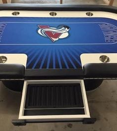 Nhl poker table felt