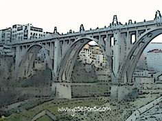 Ciudad de #Alcoy  Puente de San Jorge