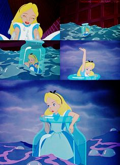 Alice In Wonderland xx jaime Film Disney, Disney Magic, Disney Art, Disney Movies, Disney Characters, Alice Disney, Alice In Wonderland 1951, Adventures In Wonderland, Lewis Carroll