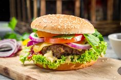Beef Burger @ Palakkad Pizza Hut ...
