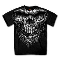 Riesen Skull Shirt 2xl
