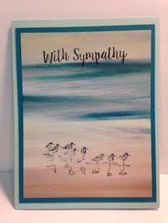 My Creative Corner!: Wetlands, Better Together, Masculine Sympathy Card, Stampin' Up!, Rubber Stamping, Handmade Cards
