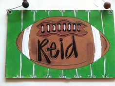 Boy football idea
