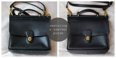 Franish on restoring a leather bag; one good reason not to discount those slightly-scuffed up, otherwise high-quality bags you might find in thrift shops or online.