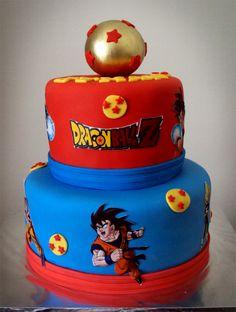 dragonball z cake | Dragon Ball Z Cake
