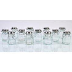 Global Amici Hexagonal Spice jars
