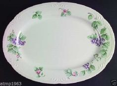 "Grapevine by Pfaltzgraff 14"" Oval Serving Platter $19.99"