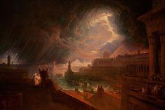 Seventh Plague of Egypt 1823 John Martin (English, Plagues Of Egypt, Asteroid Belt, Spirit World, John Martin, Historical Art, Solar System, Witches, Cool Art, Concept Art