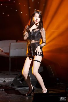 IU is known for her bubbly, bright image, but she can also go sexy! These are the 10 sexiest outfits that IU has ever worn. Korean Women, Korean Girl, Choker Outfit, Korean Idol Fake, Fake Photo, Hot Outfits, Stage Outfits, Sexy Asian Girls, Sensual