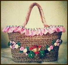 handmade bags from natural fibers by eilenebags.blogspot.com