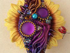 Shibori bead embroidery bracelet on Etsy, $194.31 AUD