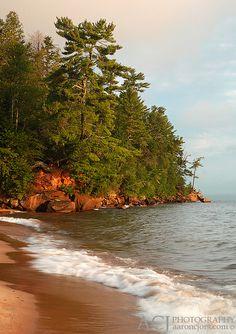 Apostle Tree - Point Detour Area, Wisconsin; photo by .Aaron C. Jors