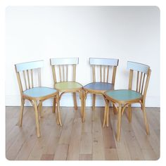4 chaises bistrot -