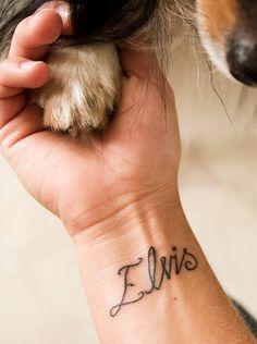 Elvis tattoo via Tattoologist