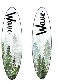 2nd personal wave surfboard designs, using online images