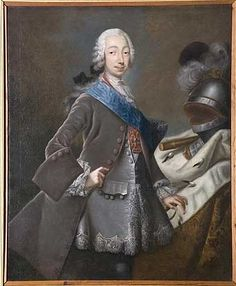 Peter III of Russia by Pfandzelt. Peter was born a prince of Holstein-Gottorp in 1728 and until he was taken to Russia in 1742 (at the age of 14) by his aunt, Empress Elizabeth, was known as Karl Peter Ulrich. He became Duke of Holstein-Gottorp in 1739. Immature and wayward he hated Russia and never learnt to speak fluent Russian - or indeed French (the official court language).