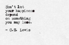 Typewritten - C.S. Lewis