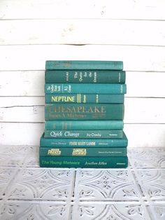 this etsy shop has tons of decorative vintage book sets in different color themes great - Books About The Color Green