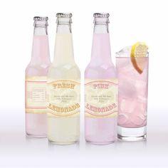 vintage lemonade, pink lemonade and limeade labels - printable editable file on Etsy, $10.06 AUD