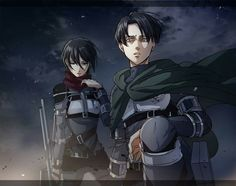 Mikasa chose Eren's scarf. Levi chose his scouting Legion cape, maybe because he chose to be part of it and still won't regret his choice