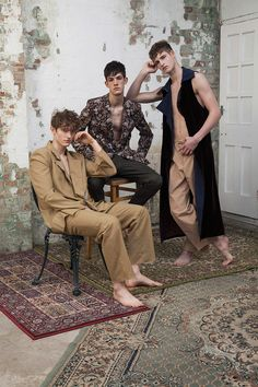 """infinite-movement: """" Callum Ball, Max Streetley and Ronnie Quick by Stephanie Yt for Fucking Young! """""""
