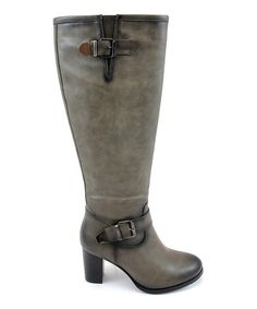 Loving this Taupe Dale Buckle Boot on #zulily! #zulilyfinds