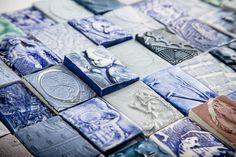 John Bauer Ceramic and Porcelain Art - Ceramics - Tiles