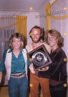 Andy Gibb with Bee Gees 1979 Photo by Bob Sherman-Globe Photos, Inc.