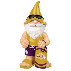 Los Angeles Lakers Mini Beach Gnome