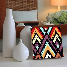 Quadro - Geometric Colorful