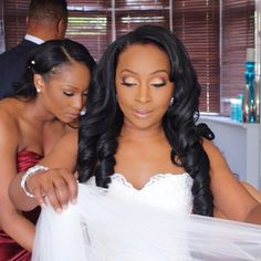 #tbt The important bridal prep!!! Cleo's veil was gorgeous!! Makeup by me for…