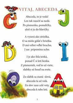 Online prodej látek pro Vaše tvoření & Bavlněný sen E-shop Mish Mash, In Kindergarten, Activities For Kids, Diy And Crafts, Alphabet, Homeschool, Poems, Classroom, Teacher