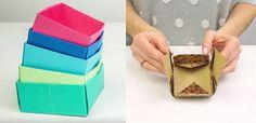 Video: Ako si vyrobiť jednoduché origami krabičky