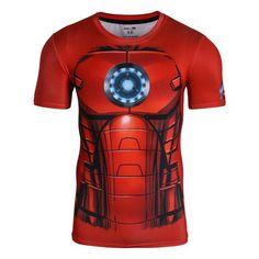 Men's Compression Shirt Superman