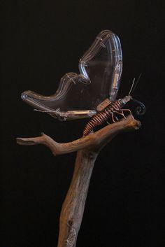 mechanical neon butterfly, arrtist: Jeroen Gordijn