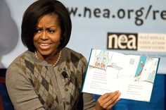 """Michelle Obama's lunch program costing school $1,300 per day.  NO ONE ELECTED THIS """"THING"""" THAT CALLS ITSELF MICHELLE!"""