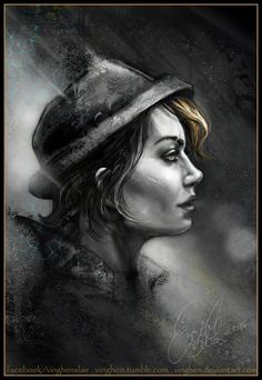 Tales from the Borderlans - Fiona by vinghen Borderlands Series, Borderlands Art, Tales From The Borderlands, The Wolf Among Us, Handsome Jack, Bioshock, Cool Art, Concept Art, Fan Art