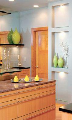 Contemporary Kitchen, Stainless Steel Appliances, Interior Design ...