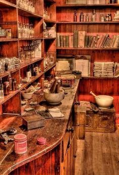 Apothecary in a butlers pantry- Dreamy! So much healing power in herbs and spices and 'weeds'. Witch Room, Witch House, Witch Cottage, Witch Aesthetic, Practical Magic, Kitchen Witch, Herbal Kitchen, Herbal Medicine, Witchcraft