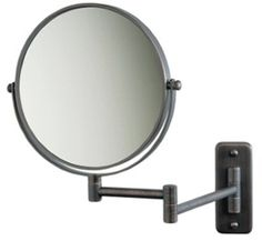 SeeAll 8 Makeup Vanity Mirror OilRubbed Bronze Dual Arm Wall Mount 7X Optics *** Click image for more details. (It is an affiliate link and I receive commission through sales)