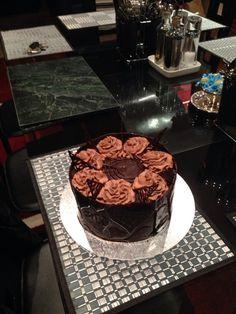 Chocolate cake.....