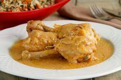 Muslos de pollo en salsa (en olla rápida) - MisThermorecetas